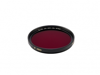 B+W MRC Filter Dunkelrot E49