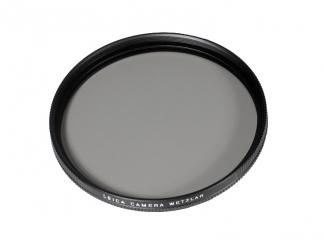 Filter P-cir, E55, schwarz