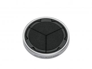 LEICA D-LUX 7 Auto Objektivdeckel, silber/schwarz
