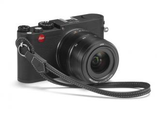 Leica Handschlaufe mit Schutzlasche für M- und X- Kameras, schwarz