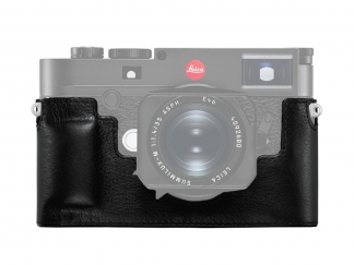 Leica M10 Protektor Leder, schwarz