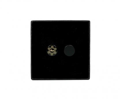 "LEICA Soft Release Button ,,snow flake"" Christmas Edition 2020, 12mm schwarz"