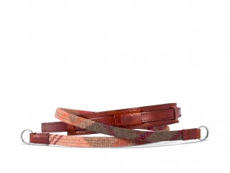 Leica Tragriemen Lifestyle, Leder/Textil, karo