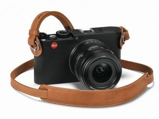 Leica Tragriemen mit Schutzlasche für M- und X- Kameras, cognac