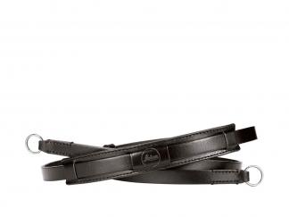 Leica Tragriemen vintage, Leder, schwarz