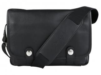 Oberwerth Boulevard Tablet Leder schwarz innen rot