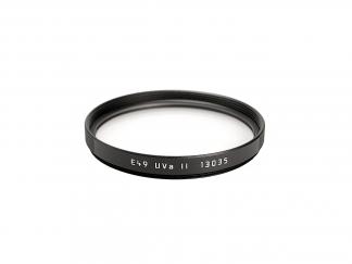 LEICA Filter UVa II E49 schwarz