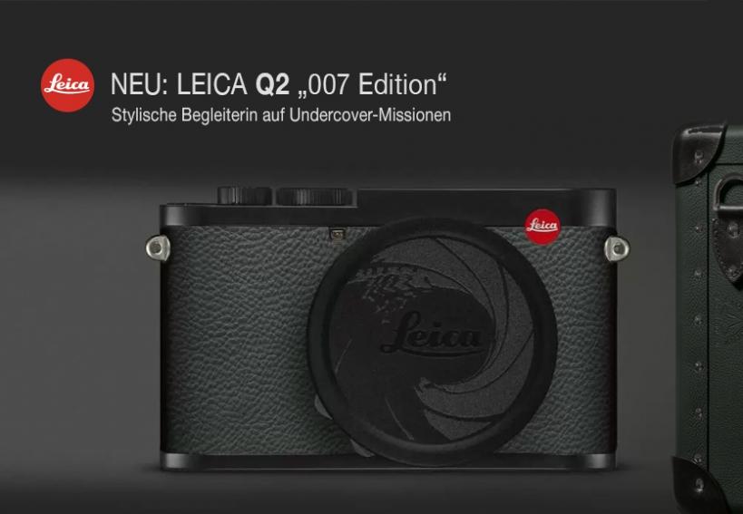 """LEICA Q2 """"007 Edition"""""""
