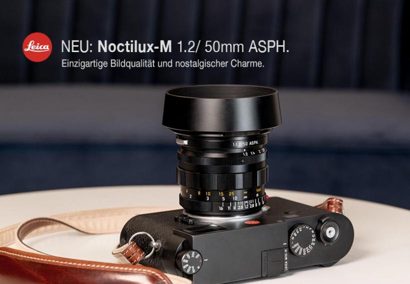 LEICA Noctilux-M 1.2/ 50mm ASPH. - Start